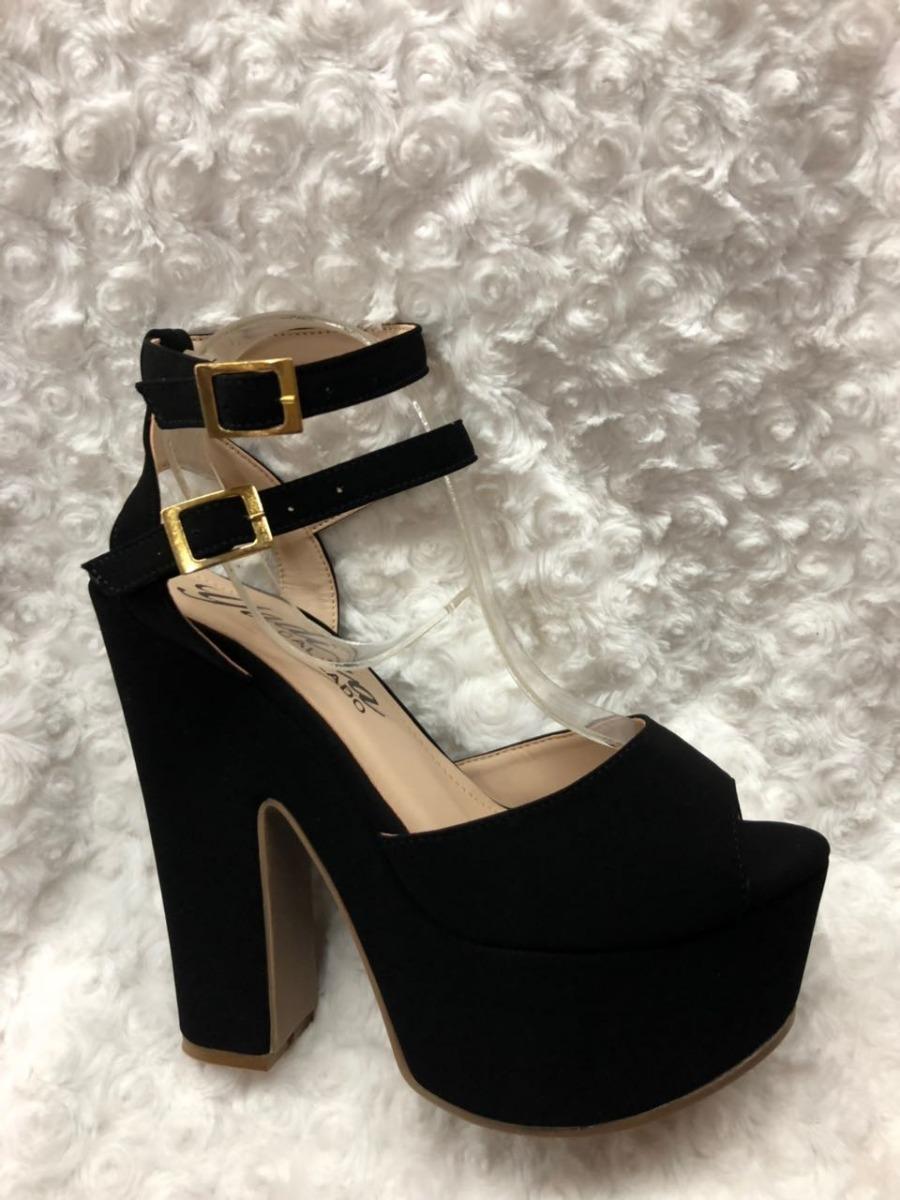 145f296479a sandalias altas de tacón color negro para mujer envío gratis. Cargando zoom.