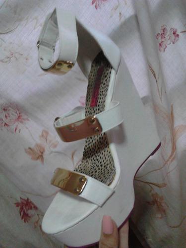 sandalias altas de vestir