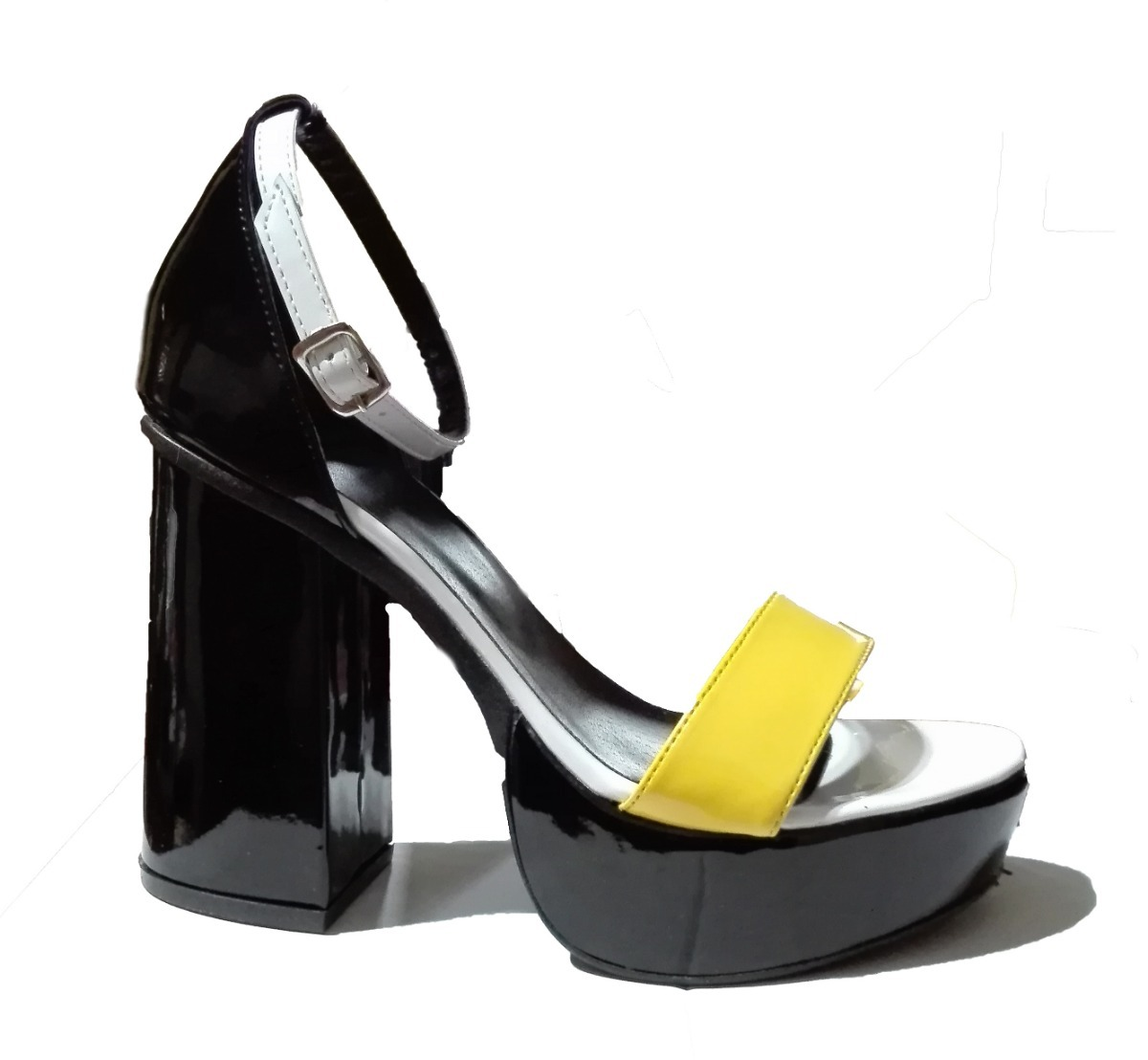 Sandalias Plataforma Mujer 2019 Charol Altas Zapatos Fiestas qqTXr 335d422a2428