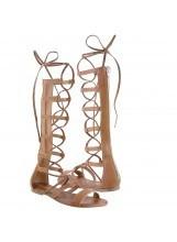 sandalias altasimas gladiadoras griegas a msi envío gratis