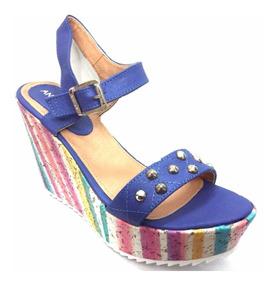 Altas Anca Co Azul Sandalias Color I QdohrCBtsx