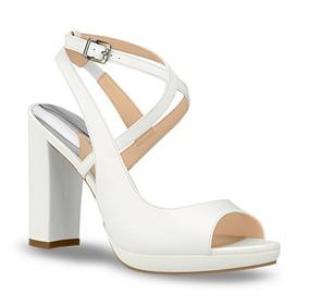 b27a028a5 Sandalias Dama Tacon Medio Zapatos Ojotas Andrea Mujer - Zapatos ...