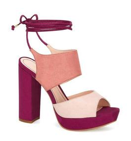 Andrea Oscuro Con Plataforma Zapatos Mujer Violeta En 2015 CxoreBd