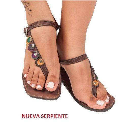 sandalias artesanales aguasala casuales playera cuero