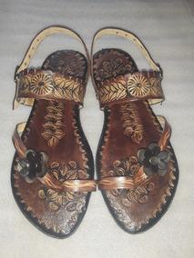 Mercado Mujer Sandalias De En Artesanales Zapatos Cuero Eb2eDIYWH9