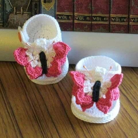 sandalias artesanales tejidas bebe(c/caja y tarjeta)