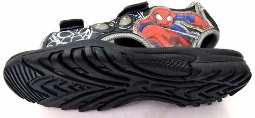 sandalias atomik  spiderman con luz