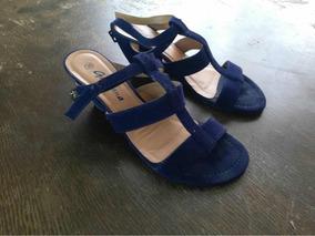Azul Sandalias Zapatos Con Blancas Negras Mercado Y En 54RqjA3L