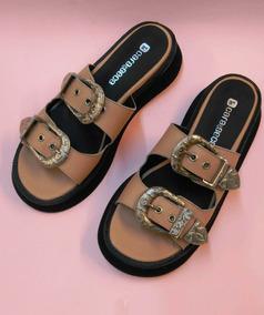 e06af8a4 Sandalias Bajas Cuero Suela Mujer 35 Al 40 Verano