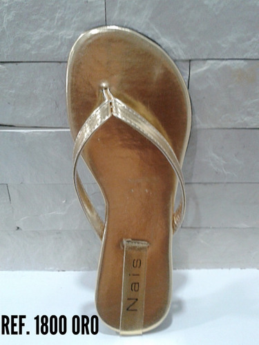 sandalias bajitas marcas nais,  mayor y detal