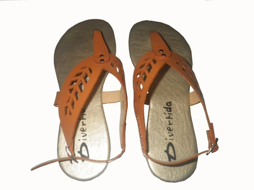 sandalias bajitas para dama-niña marca divertida