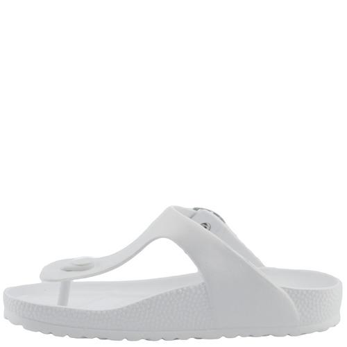 sandalias bamers capri vegan white
