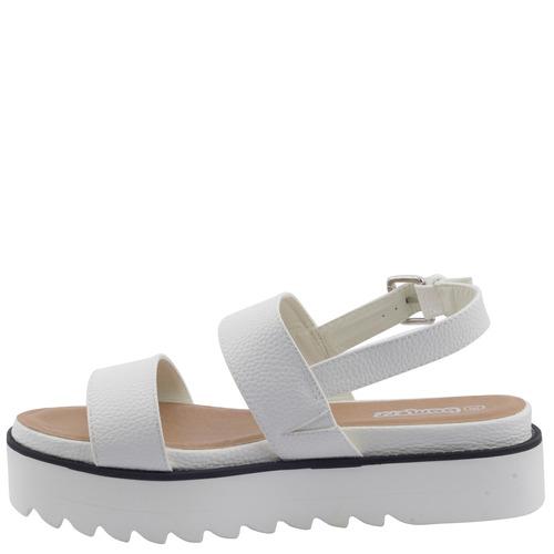 sandalias bamers strap 2sdent white