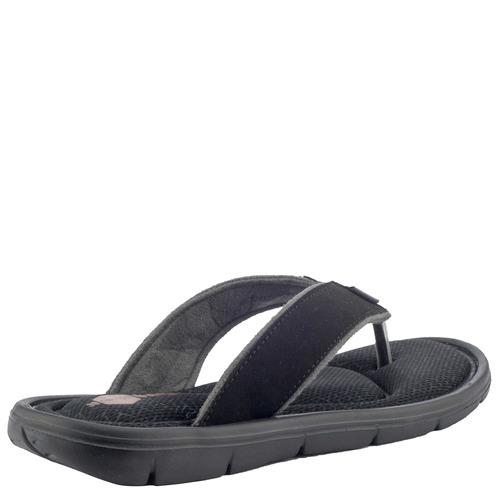 sandalias bamers tiare black print