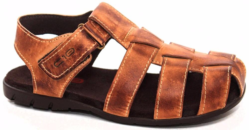 ac27044052 sandalias baratas de couro estilo pegada frete gratis. Carregando zoom.