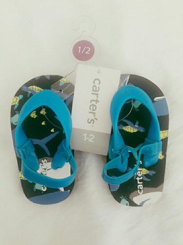 sandalias bebé marca carters talla 1-2