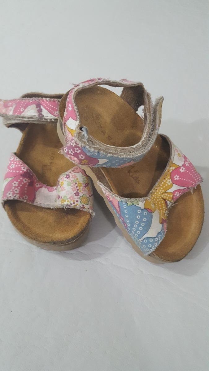 d3eab97c Sandalias Bebe Nena Zara 18-19. Importadas. - $ 450,00 en Mercado Libre