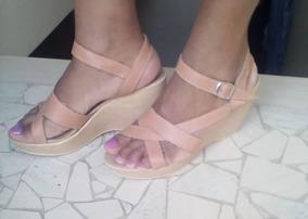 En Zapatos Mujer Sandalias Plataformas Azul Electrico Tacones 8kPZn0XNOw