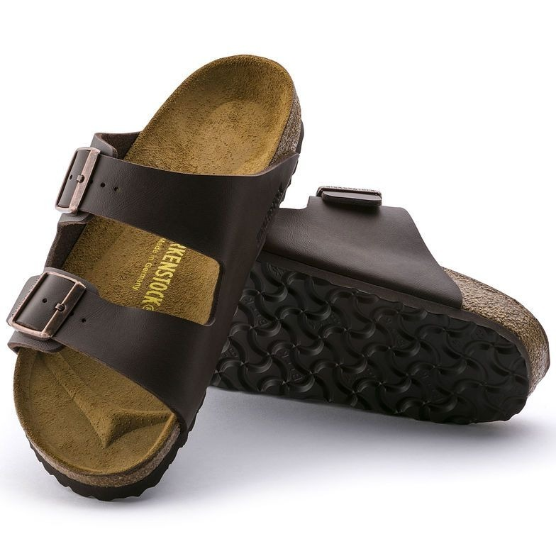 413d42470 Sandalias Birkenstock Arizona Marrom Dark Brown Original - R  359
