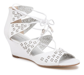 En Tiras Mercado Jqs3c5l4ar Blanco Bajitas Zapatos Sandalias Doradas Con Ymb6I7vfgy