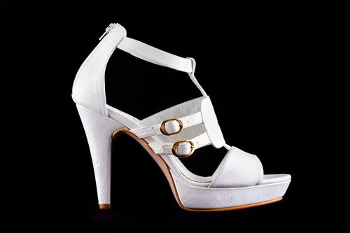 sandalias blancas plataforma, zapatos fiesta blancos,
