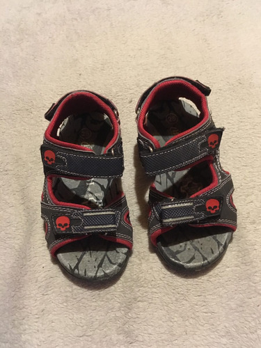 sandalias bosi niño usado