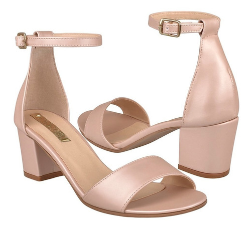 sandalias casuales para dama stylo 3008 rosa