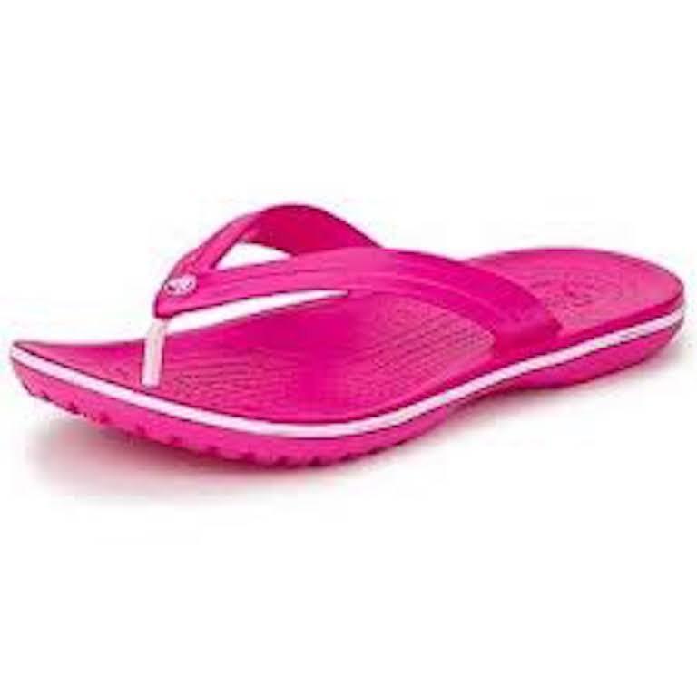 Crocband Sandalias Crocs Fucsia Flip Chanclas Mujer l3uTc15FKJ