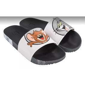 ee1b42479e Chinelo Zaxy Warner Slide Tom E Jerry 17880 Plastic Lovers