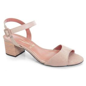 8b2c39573 Sapato Nude Vizzano Salto Baixo - Sapatos no Mercado Livre Brasil