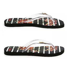 ab0ef28fca Chinelo Bloom Stripes Feminino Tira Cristal Coca Cola 008671