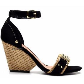 8aed11bb3 Sandalia Com Brilho Salto Alto Feminino - Sapatos no Mercado Livre ...