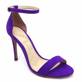 1a0e8dd2f05 Sandalia Tira Fina - Sandálias para Feminino Azul violeta no Mercado Livre  Brasil