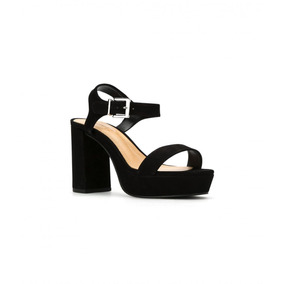 1678377d6 Sandalia Schutz Salto Bloco Nude Sandalias - Sapatos no Mercado ...