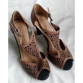 2091a71a9 Sapato Feminino Ramarim Couro Salto 14 Cm Promoção Ñ Bottero. Usado ·  Sandália Ramarim Salto 8 Cm Promoção