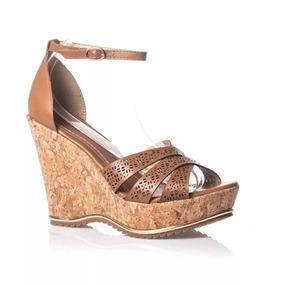 5aef9b67b Sandalia Gladiadora Brecho Anabela Bottero - Sapatos para Feminino ...