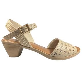 5e5d893b17 Sapatos Femininos Salto De 5 Centimetros Usaflex - Sapatos para ...