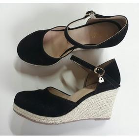 3de8871af3 Sapato Neftali Preto Feminino Anabela - Sapatos para Feminino em ...