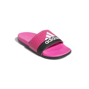 58fcbb5dde9 Chinelos Adidas Feminino Rosa Veludo - Calçados