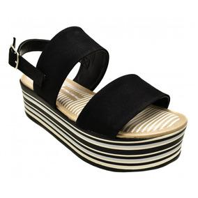 8f6d2e6aee Sandalia Plataforma Anabela Dakota - Sapatos no Mercado Livre Brasil