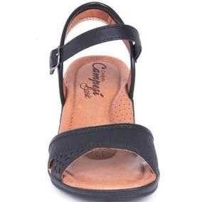 490d57f989 Sandalia Campesi Conforto Estilo - Sapatos para Feminino Preto no ...