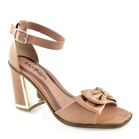 9733fa1c3b Sandalia Amarela Com Salto Grosso Ramarim - Sapatos para Feminino no ...