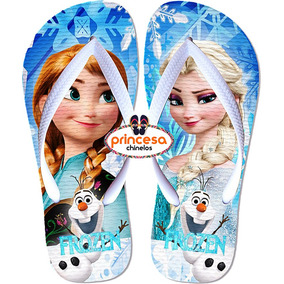 5cf87e818f Frozen Disney Ice Magic Azul Chinelo Sandalia Infantil Menin
