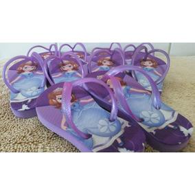 9a872506edd6d7 Bordado Princesa Sofia Chinelos - Sapatos para Feminino no Mercado ...