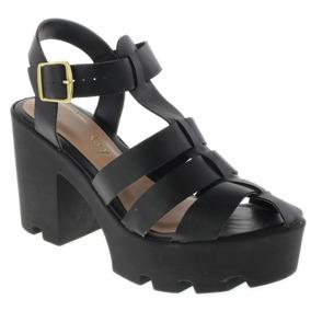 a0edc0178d Sandalia Tratorada Camurça Crysalis - Sapatos para Feminino no ...