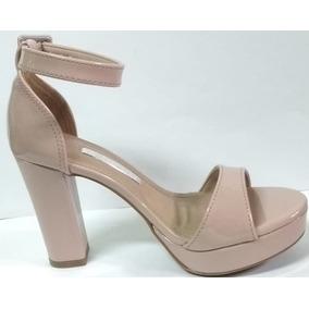 7c3edb9f0 Sandalia De Salto Grosso Via Marte Feminino Sandalias - Sapatos no ...