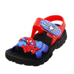7f8c8f04d5 Sandália Infantil Vingadores Homem-aranha