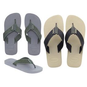 132fbcf70 Chinelos Havaianas Urban Basic Areia - Sapatos no Mercado Livre Brasil