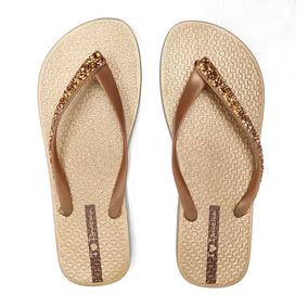 82dd24843f5 Sandália Grendene Ipanema Glam Special Dourado ouro 26149 por Calçados  Online