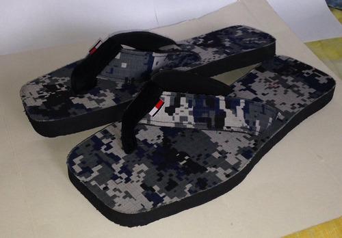 sandalias cholas cotizas camufladas (al detal y al mayor)
